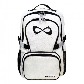 Nfinity backpack sparkle white