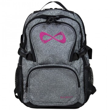 Nfinity backpack sparkle grey (petite/liten)