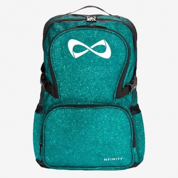Nfinity backpack sparkle teal