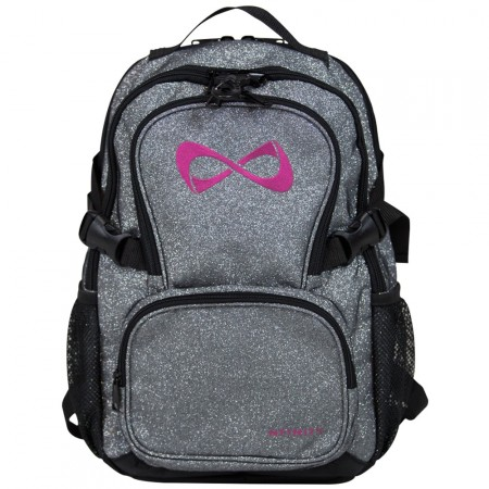 Nfinity backpack sparkle grey